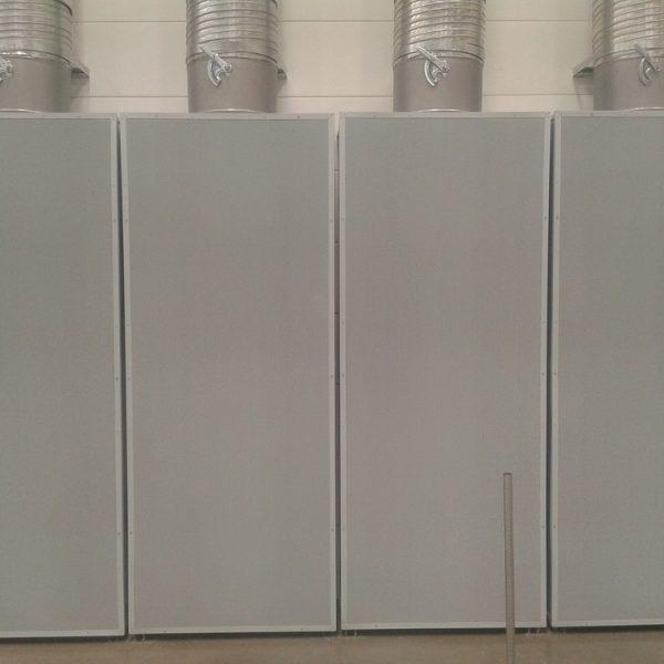 Difusores de desplazamiento DDI-C - Planta ZKW-2