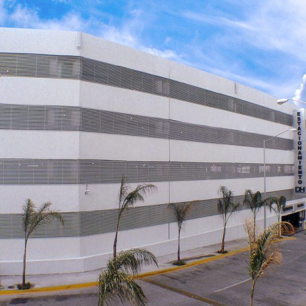 Louver HL3E en estacionamiento - Doctors Hospital-3