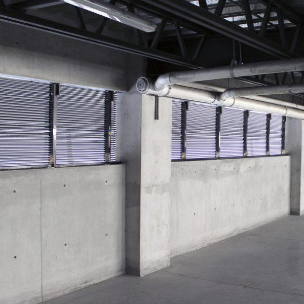 Louver HLADS1 en estacionamiento- Manzanares