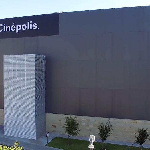 Louver escalera HL3E - Cinepolis